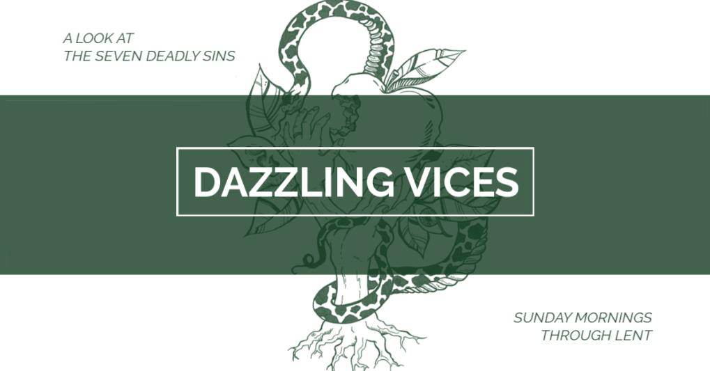 Message: Dazzling Vices - Anger