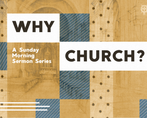 Why Church? Can't Grow Up Without It